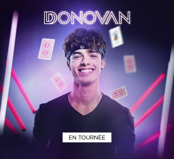 Donovan en tournée