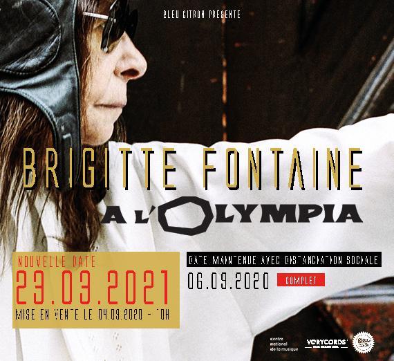 Brigitte Fontaine Olympia 2021