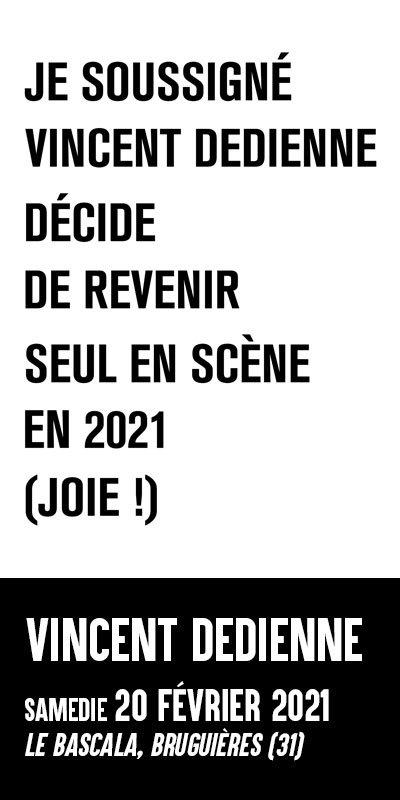 Vincent Dedienne 2021