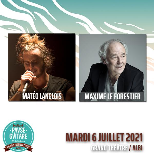 MAXIME LE FORESTIER + MATEO LANGLOIS