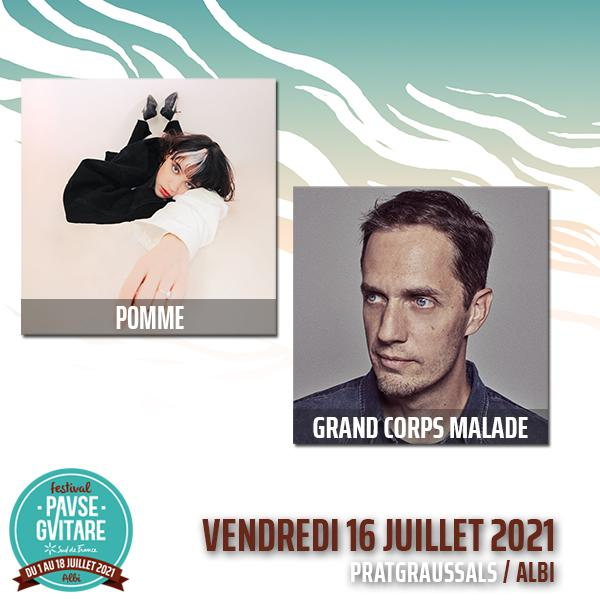 POMME + GRAND CORPS MALADE